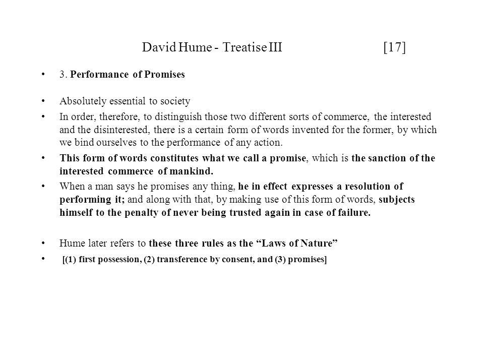 David Hume - Treatise III [17]